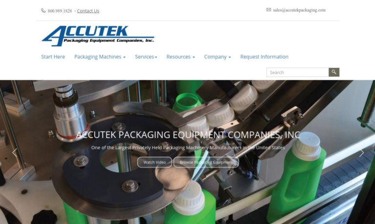 Accutek Packaging Equipment Company, Inc.