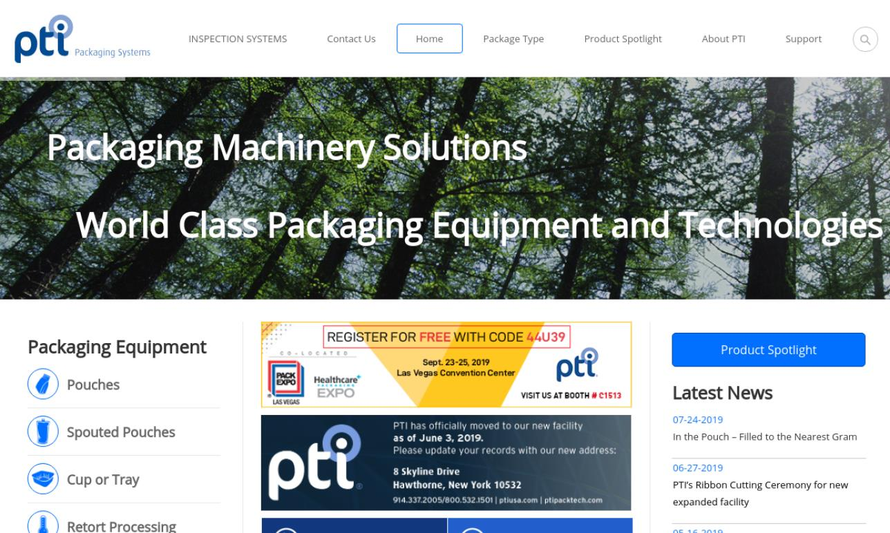 PTI - Packaging Technologies & Inspection