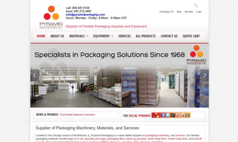 Pyramid Packaging, Inc.