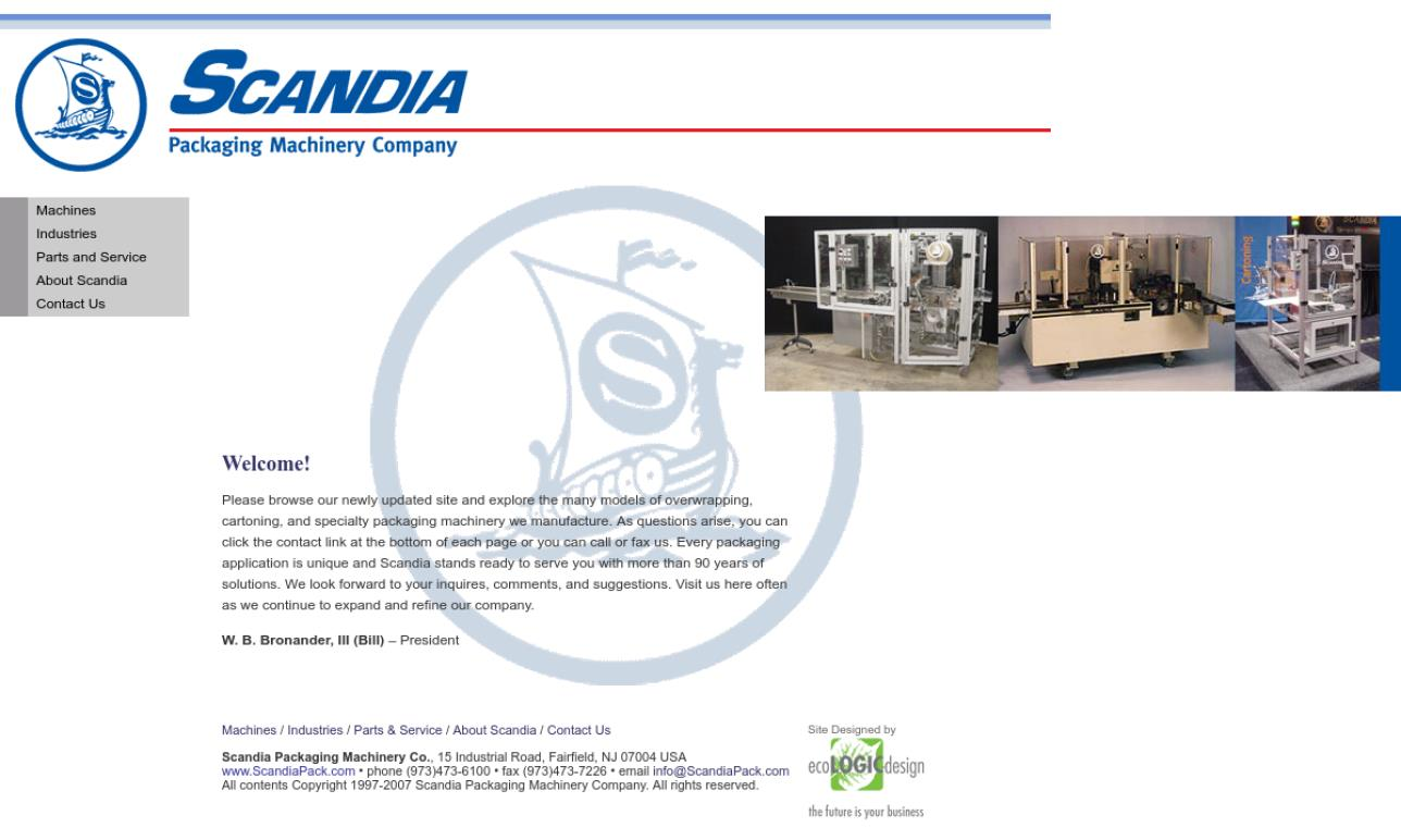 Scandia Packaging Machinery Co.