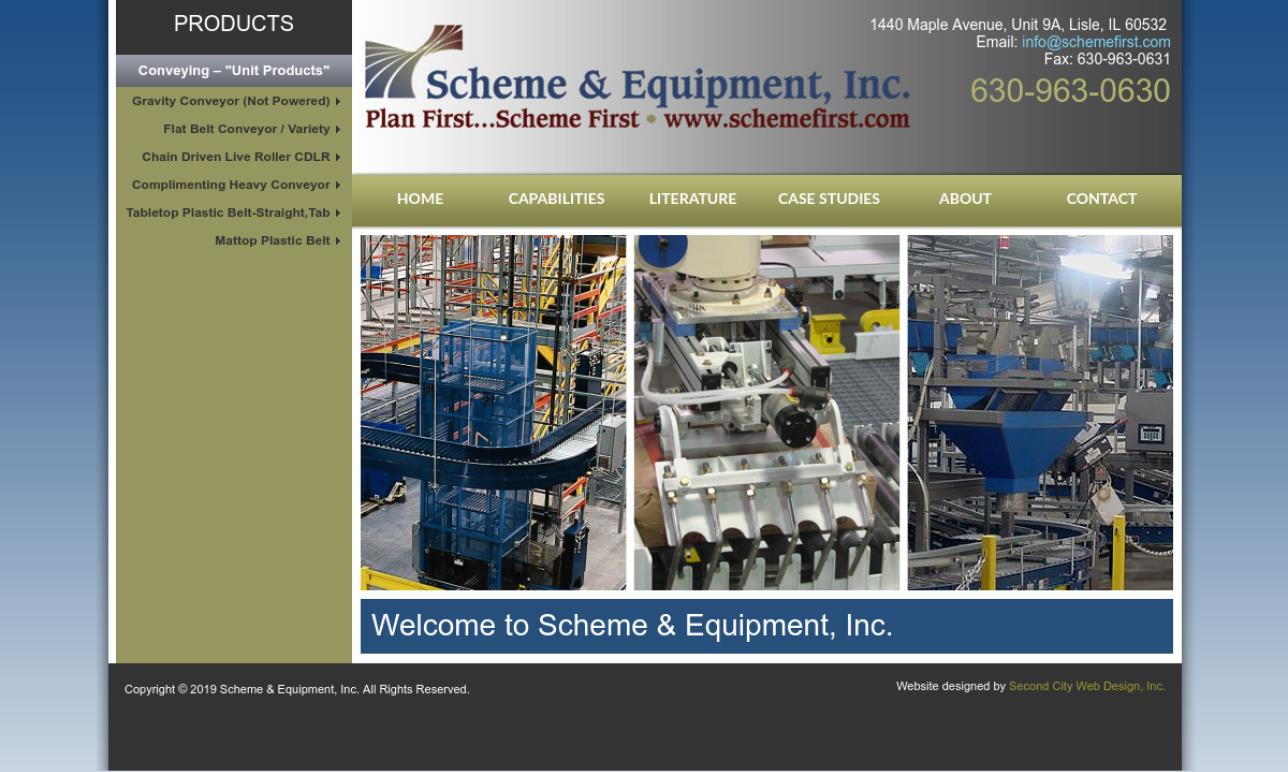 Scheme & Equipment, Inc.