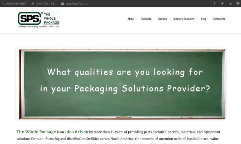 Shrink Packaging Systems Corporation