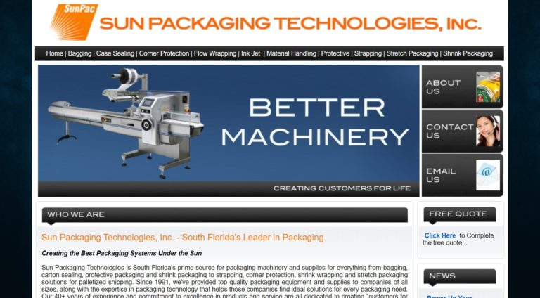 Sun Packaging Technologies, Inc.