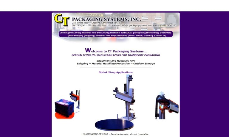 CT Packaging Systems, Inc.