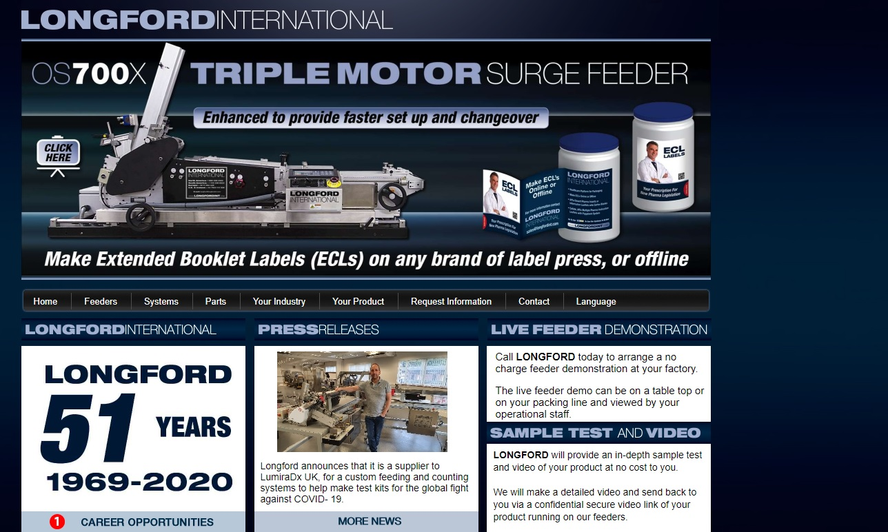 Longford International, Ltd.